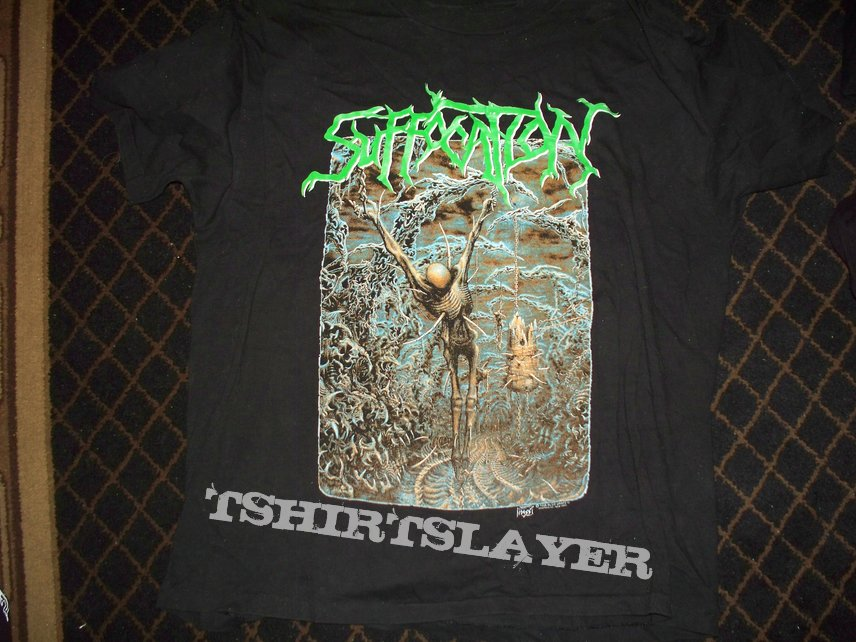 Suffocation - Pierced from Within - T-Shirt - SOLD