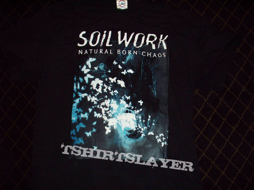 Soilwork - Natural Born Chaos 2002 U.S. Tour T-Shirt