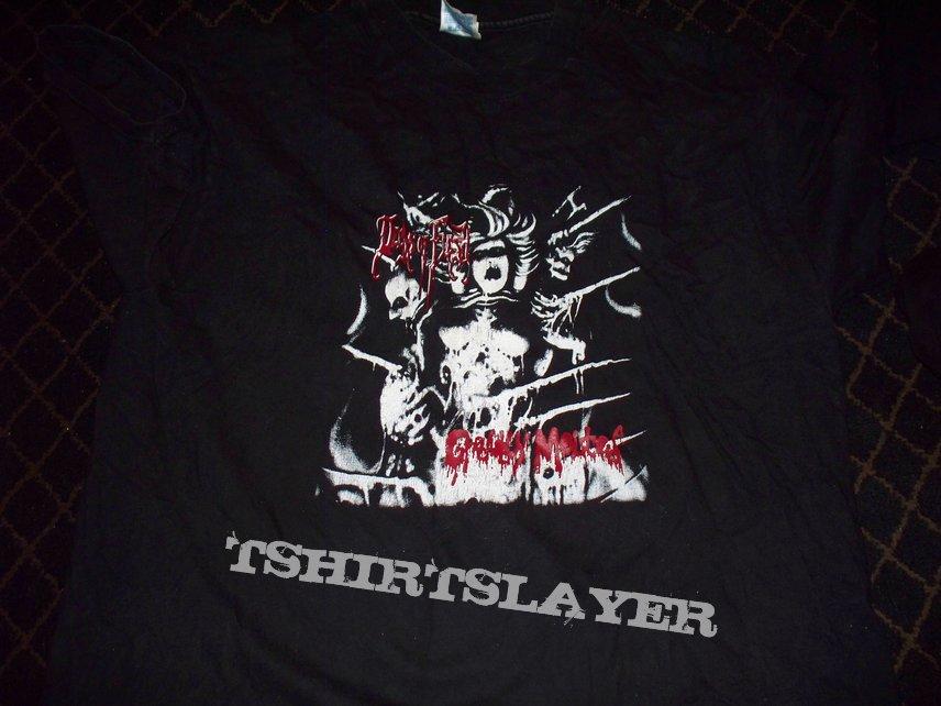 Deeds of Flesh - Gradually Melted - Jon Zig Artwork - T-Shirt - SOLD