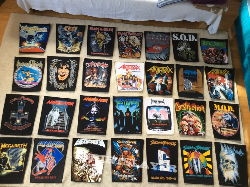 Back Patches collection