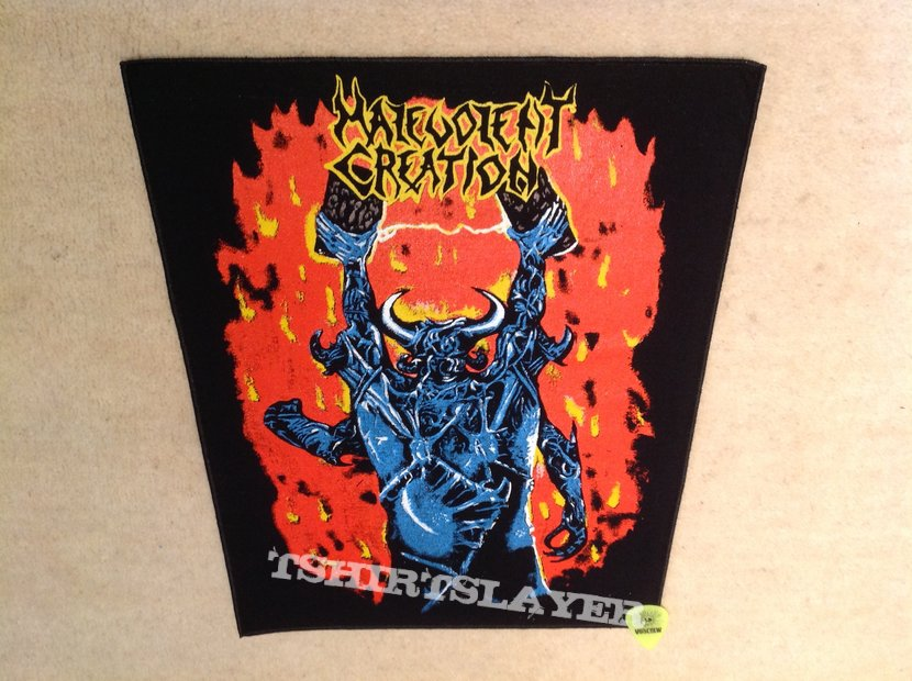 Malevolent Creation - The Ten Commandments - Backpatch