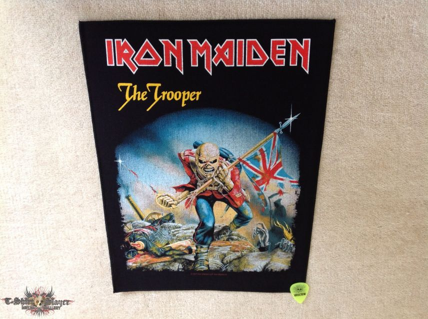 Iron Maiden - The Trooper - 2017 Iron Maiden LLP - Backpatch