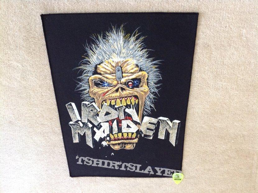 Iron Maiden - Eddie Crunch - 1988 Iron Maiden Holdings Ltd. - Backpatch