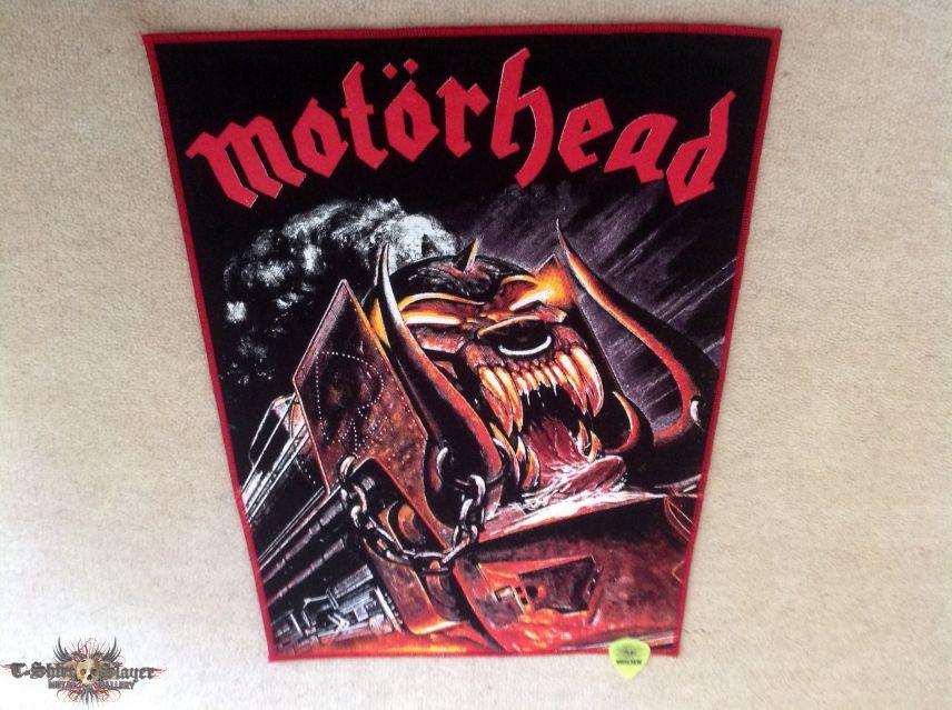 Motörhead - Orgasmatron - Red Border - Backpatch