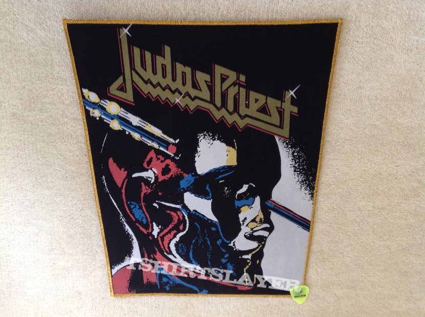 Judas Priest - Stained Class - Gold Border - Backpatch