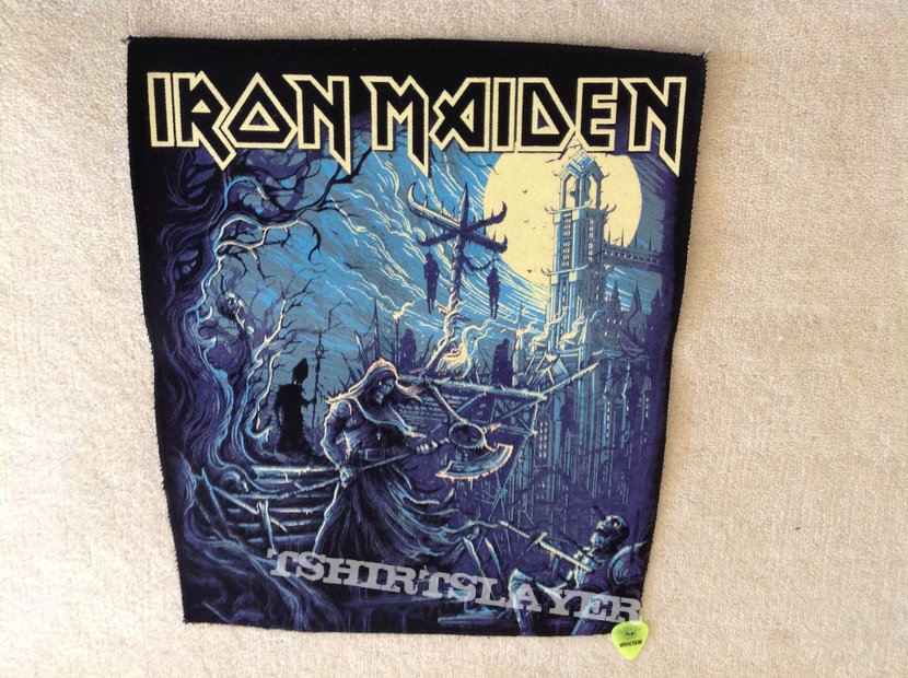 Iron Maiden - Hallowed Be Thy Name - Backpatch