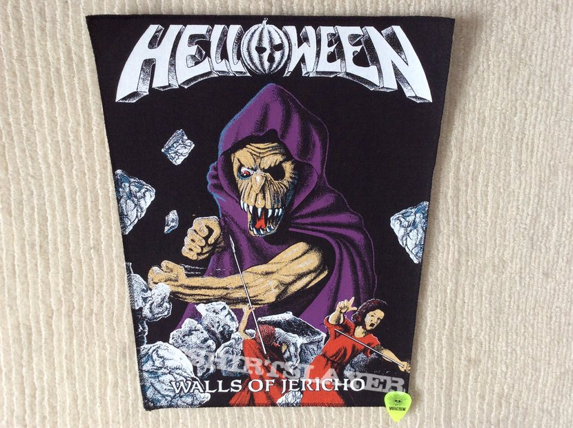 Helloween - Walls Of Jericho - Vintage Back Patch