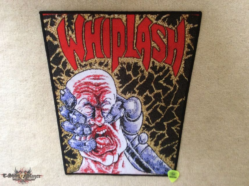 Whiplash - Power And Pain - Boot Backpatch