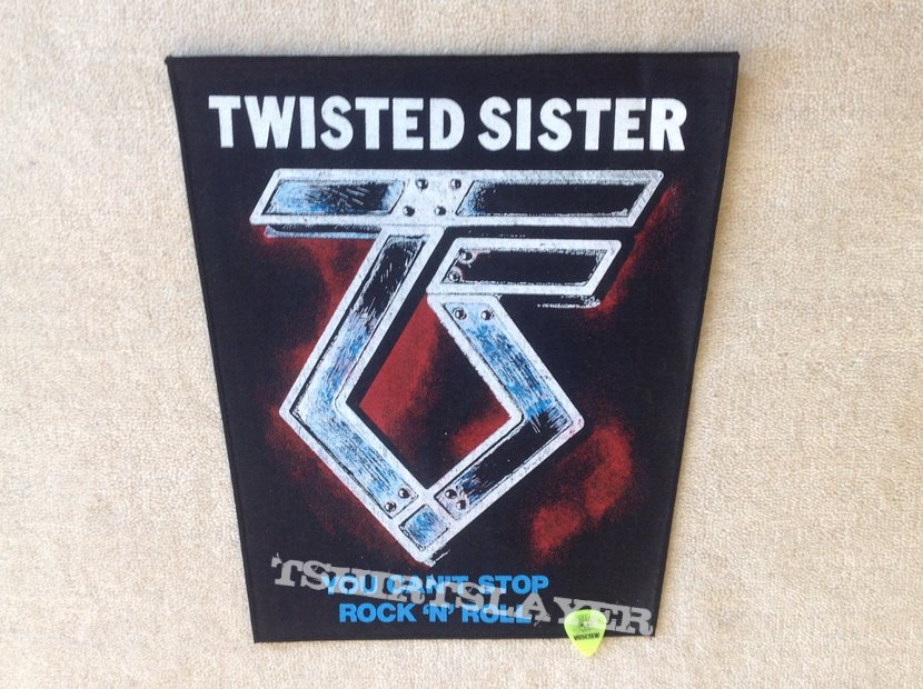 Twisted Sister - You Can't Stop Rock 'N' Roll - Vintage Backpatch