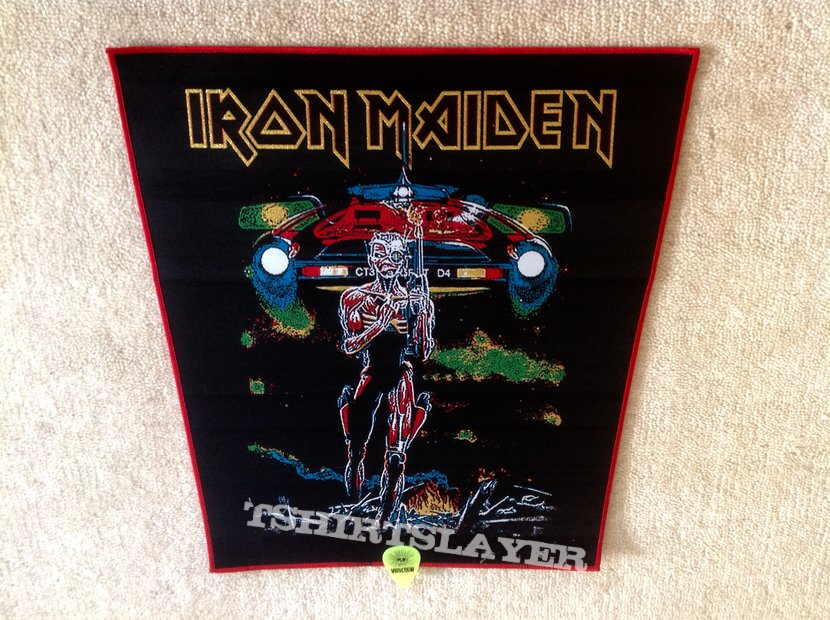 Iron Maiden - Somewhere On Tour - Red Border - Backpatch (woven)