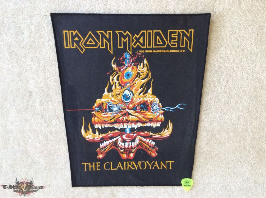 Iron Maiden - The Clairvoyant - 1988 Iron Maiden Holdings Ltd. - Backpatch