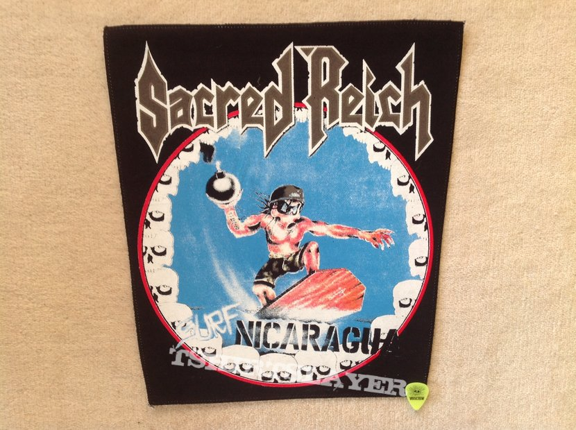 Sacred Reich - Surf Nicaragua - Backpatch