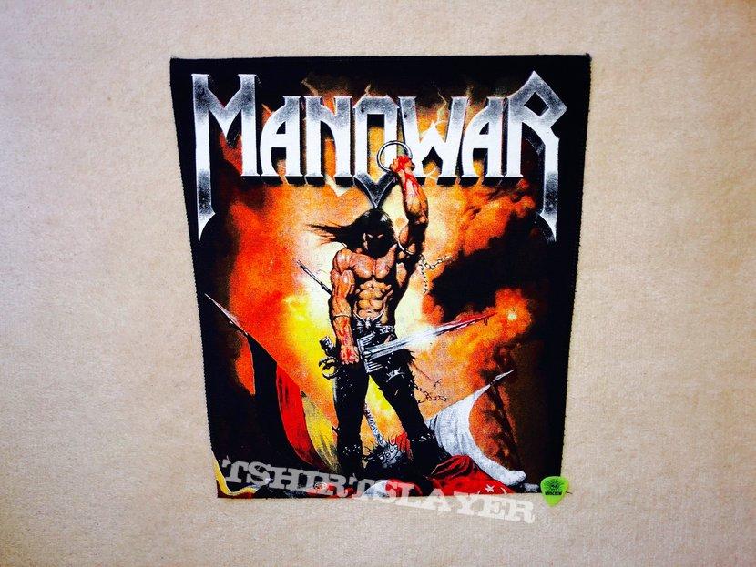 Manowar - Kings Of Metal - Backpatch Version 2