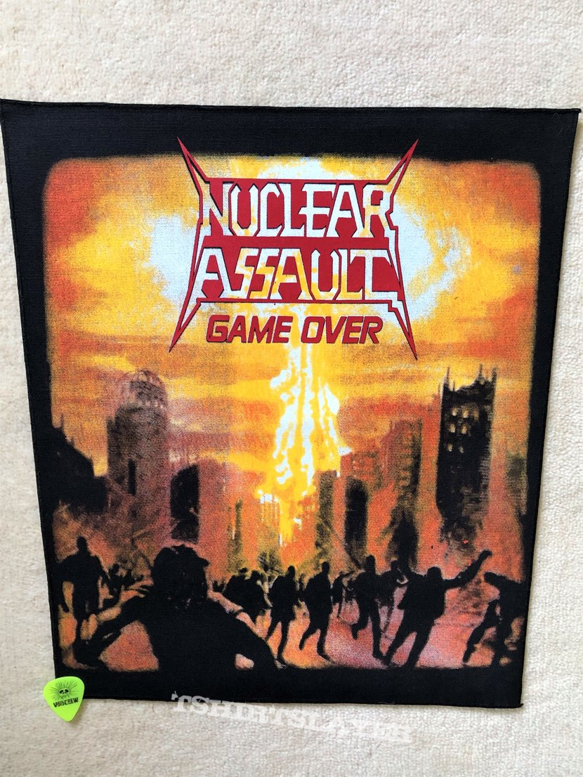 Nuclear Assault - Game Over - Backpatch
