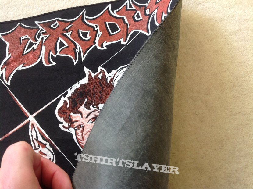 Exodus - Bonded By Blood - Vintage Backpatch - Red Version