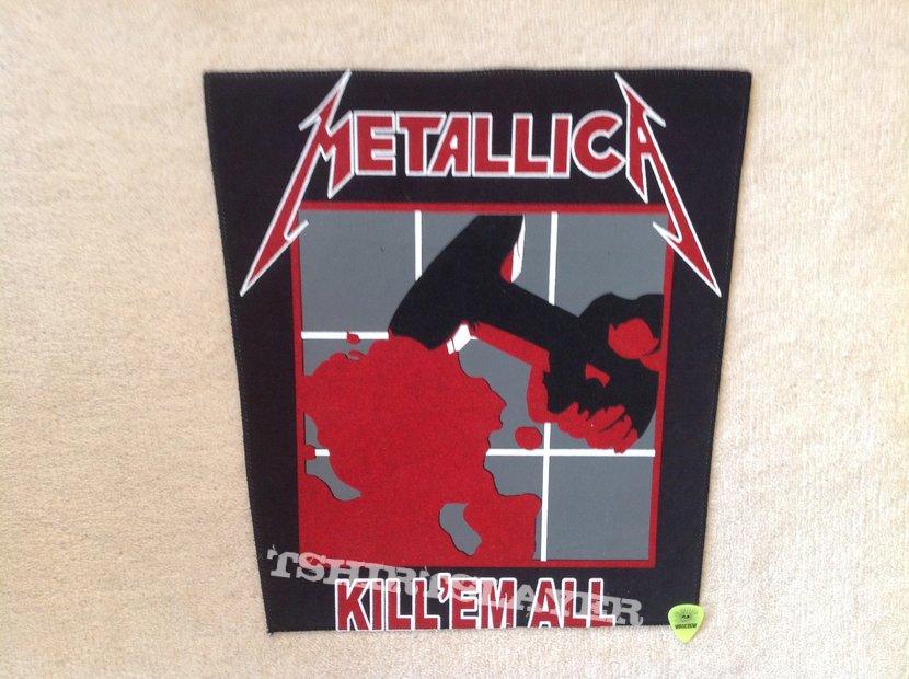 Metallica - Kill 'Em All - Backpatch