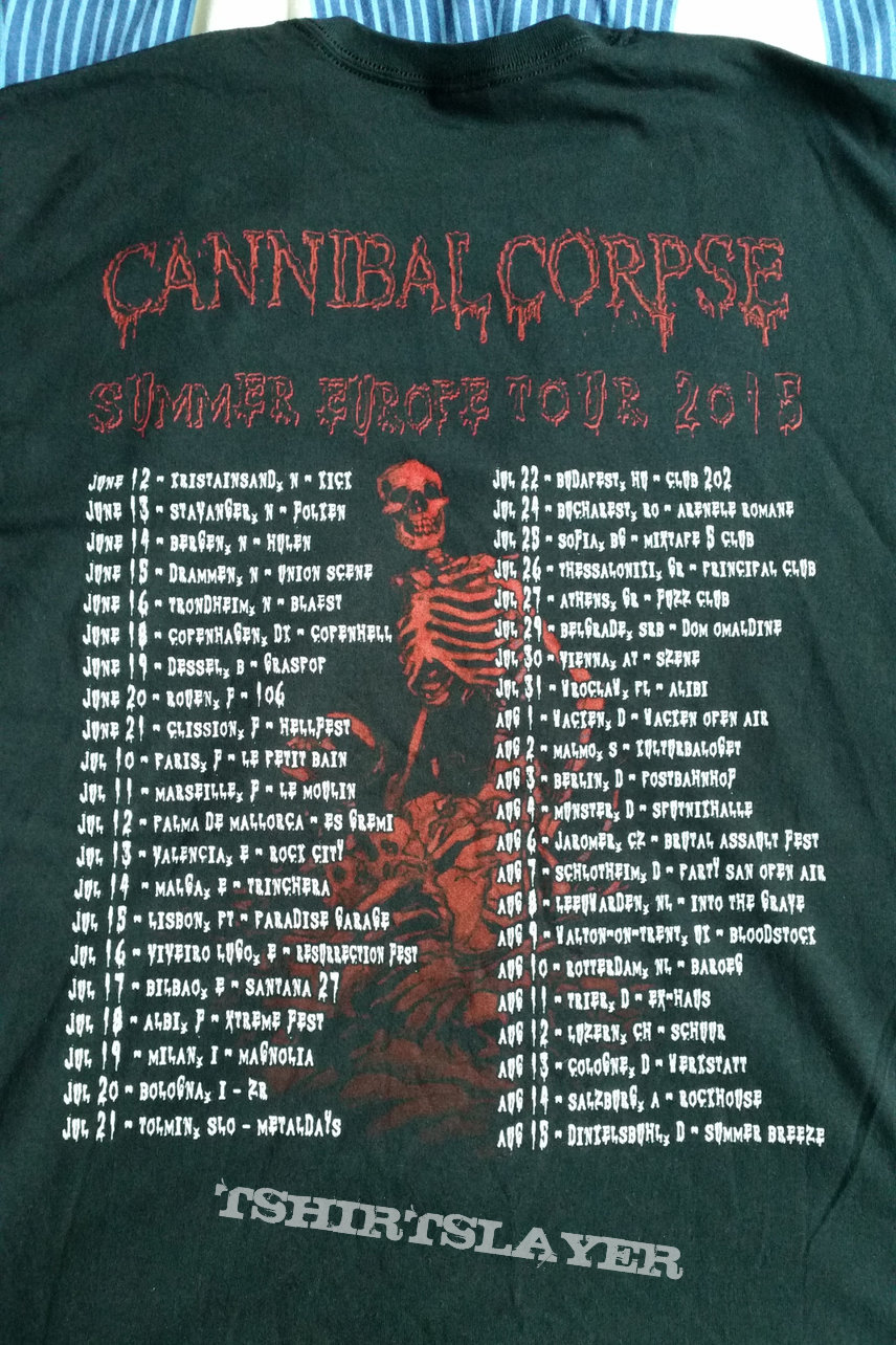 Cannibal Corpse – Icepick Lobotomy Tour Shirt