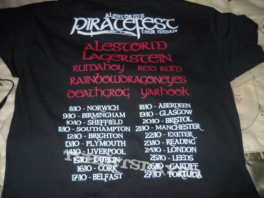 Alestorm's Piratefest XL Shirt