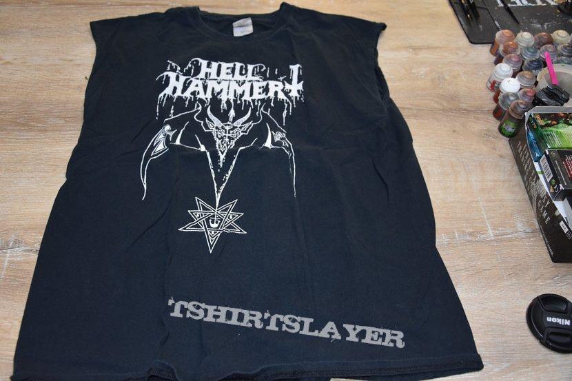 Hell hammer shirt