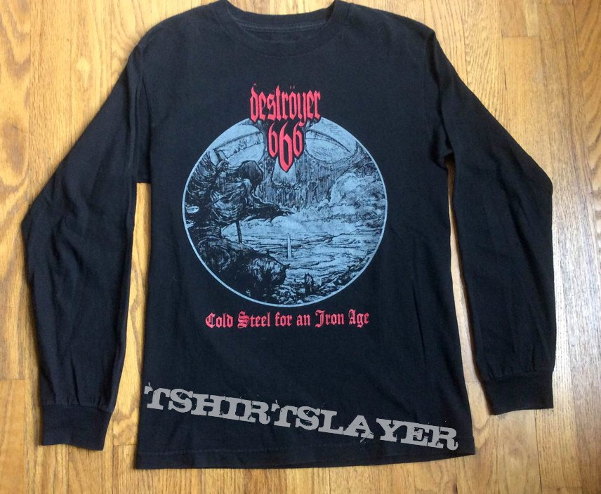 Destroyer 666 Cold Steel... Long Sleeve Shirt