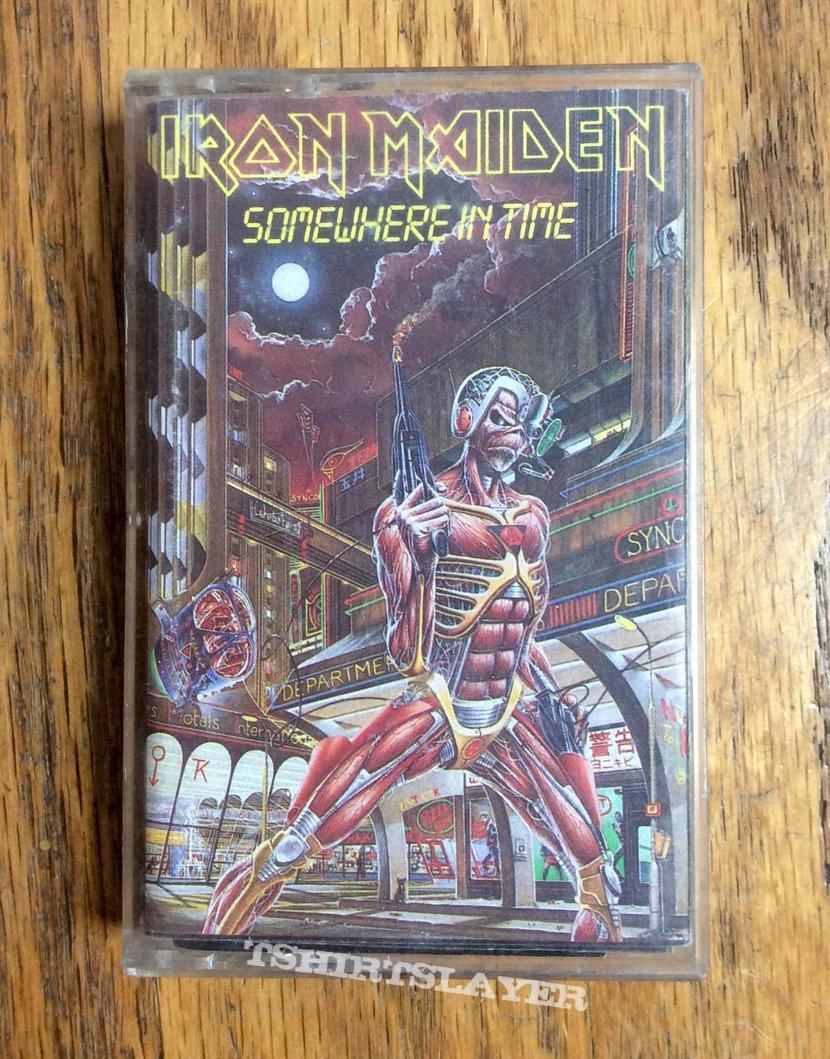 Iron Maiden Somewhere In Time Cassette