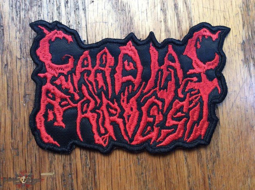 Cardiac Arrest Logo Patch Death Metal