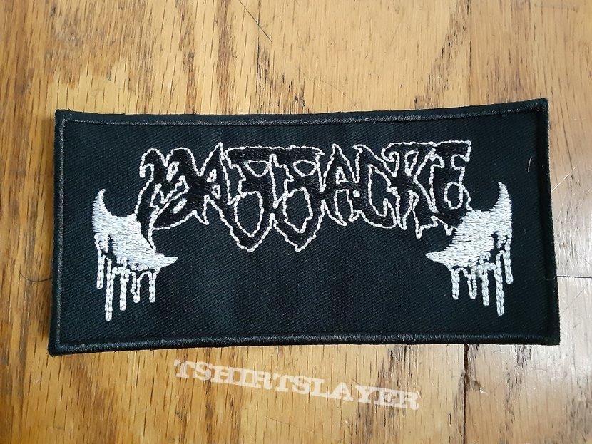 Massacre Band Logo Patch