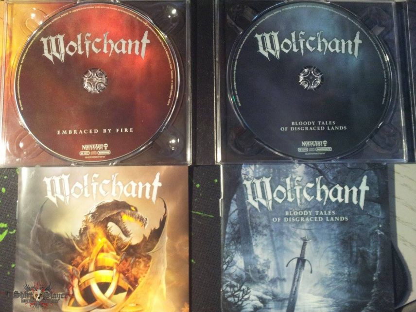Wolfchant - Embranced by Fire + Bloody tales of disgraced lands