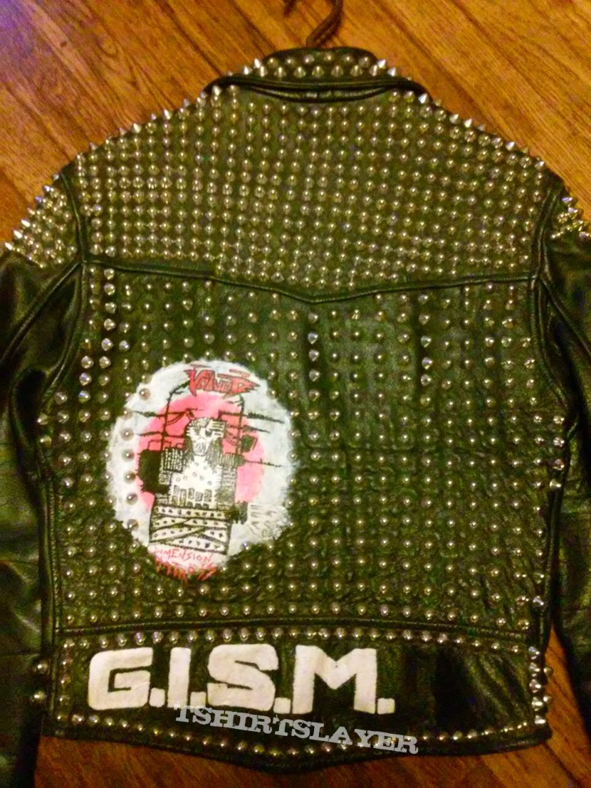 older personal leather vest