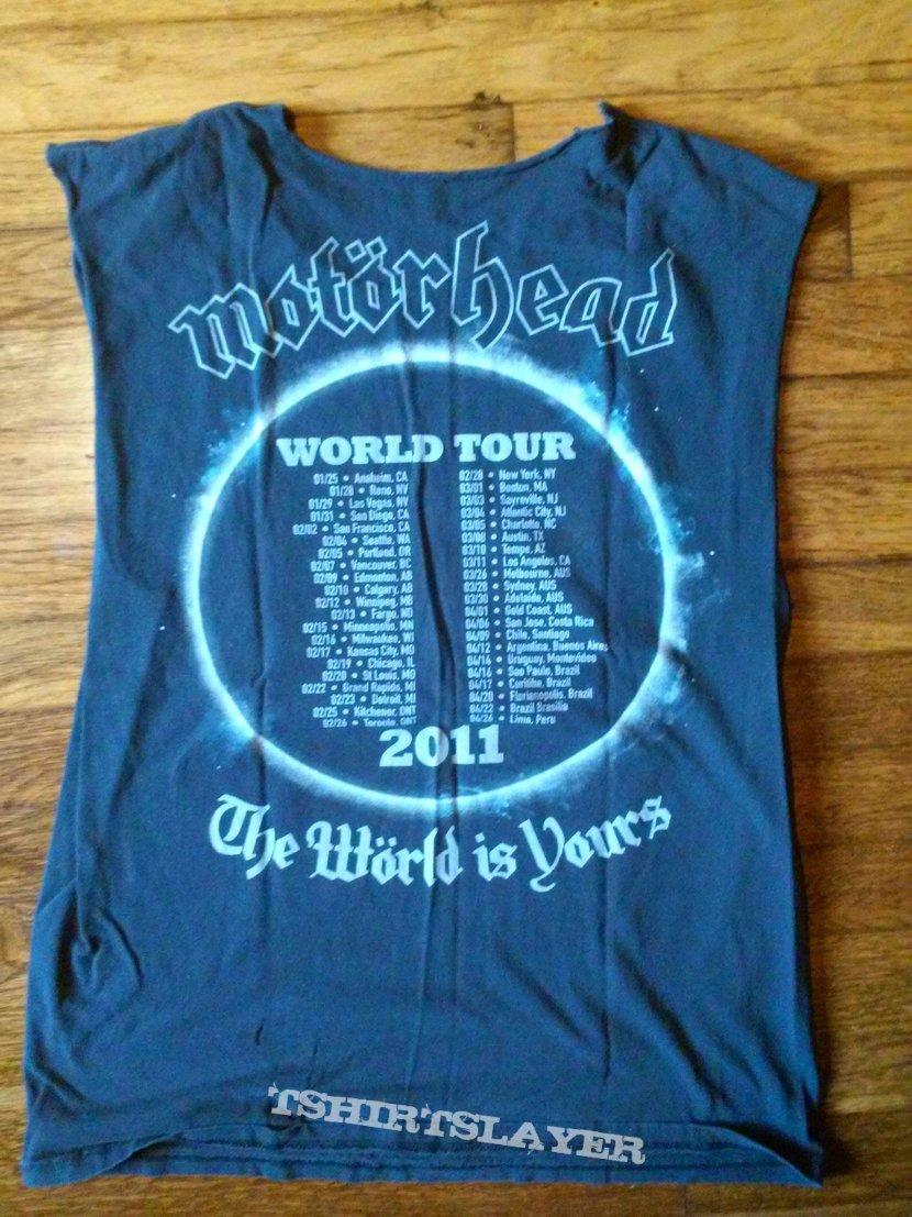 Motorhead world is yours
