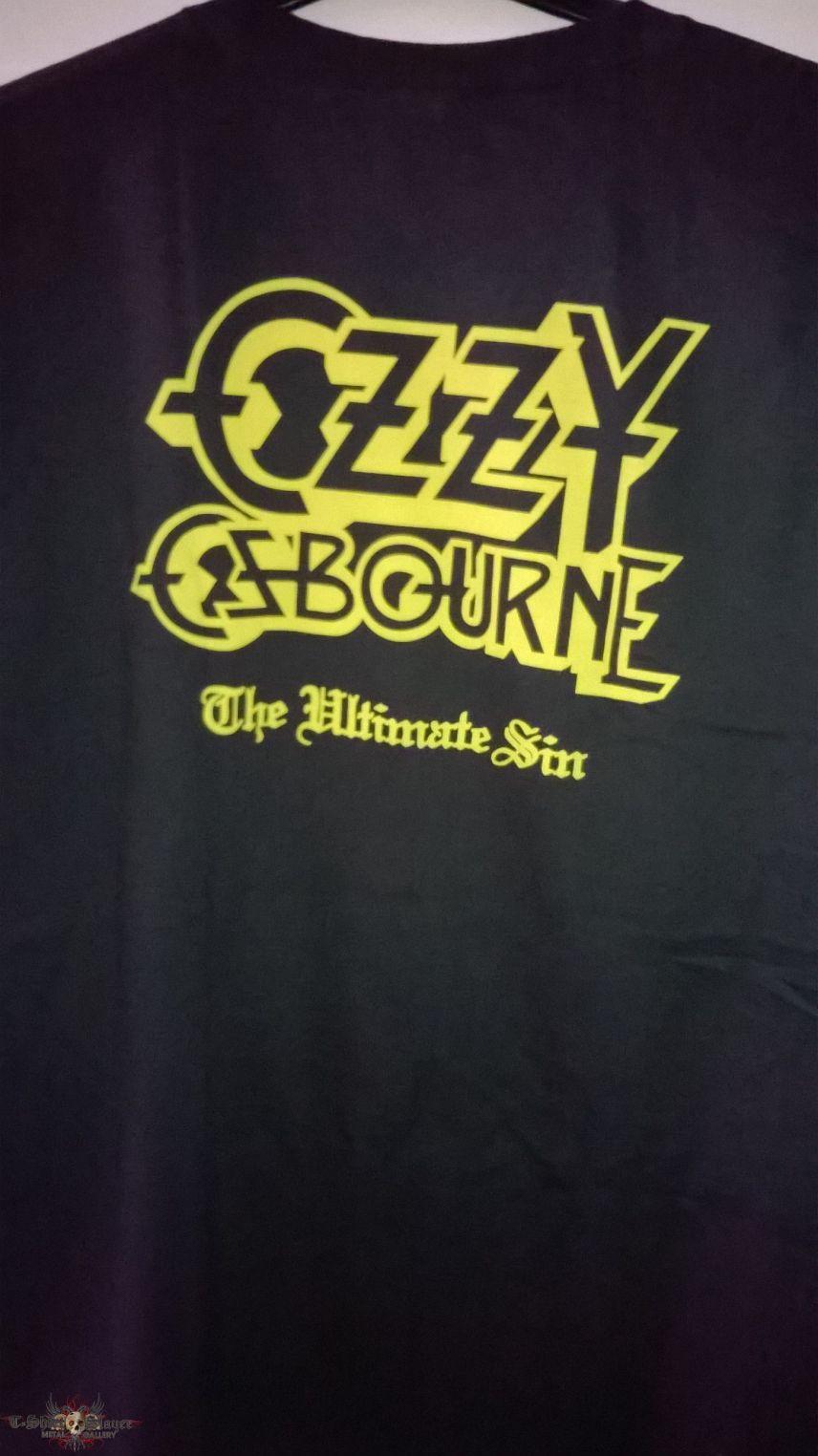 Ozzy Osbourne The Ultimate Sin Shirt