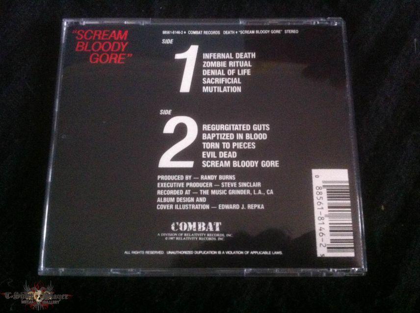 Death - Scream Bloody Gore CD