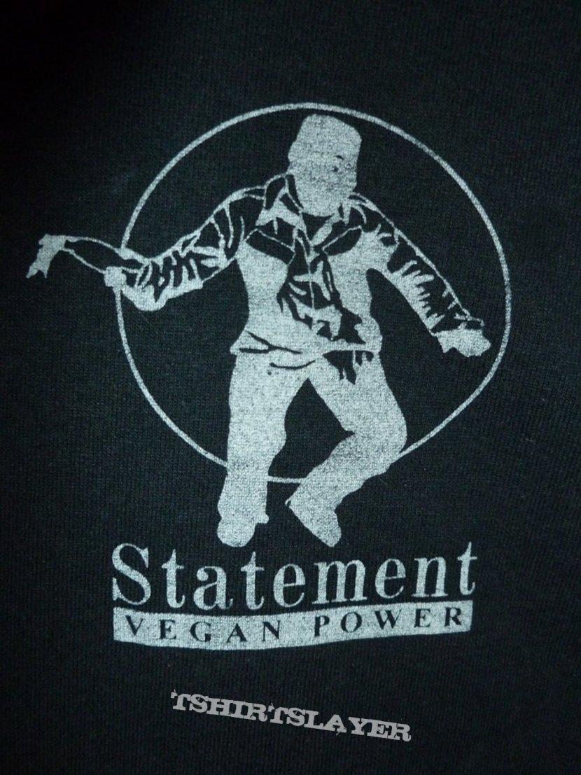 Statement - Its ok to Kill People/Vegan Power Shirt