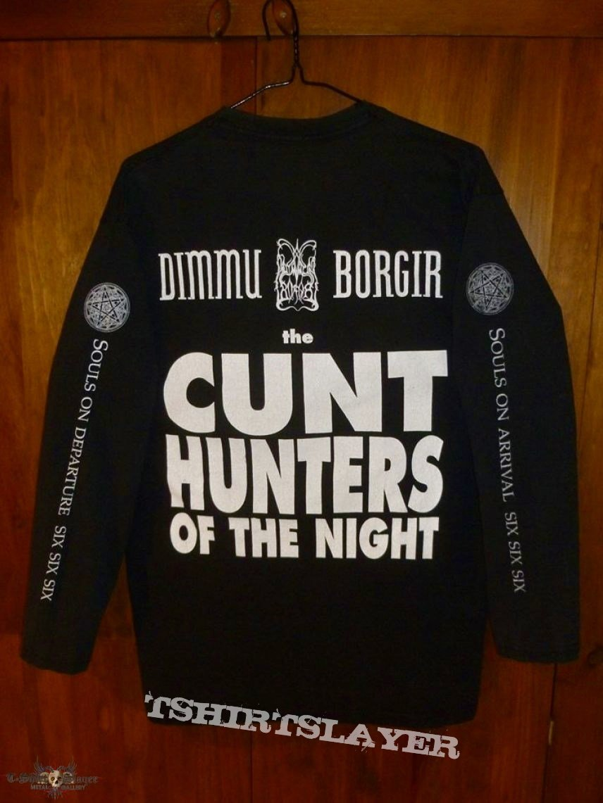 Dimmu Borgir - Cunt Hunters of the Night/Enthrone Darkness Triumphant Long Sleeve
