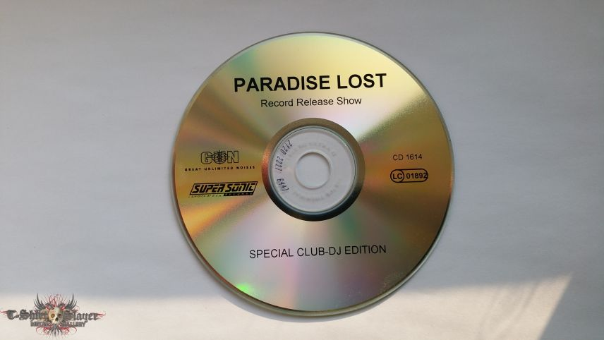 Paradise Lost Symbol Of Life Record Release Show Promo Cd