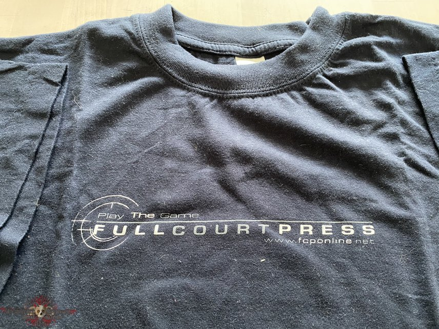 """FULL COURT PRESS """"play the game"""" t-shirt"""