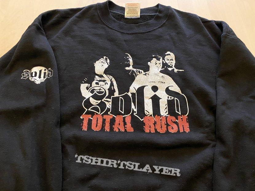 "SOLID ""total rush"" crewneck"
