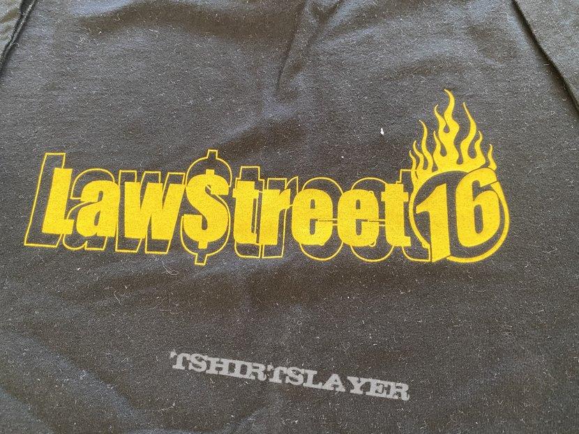 LAWSTREET 16 t-shirt brussels hardcore