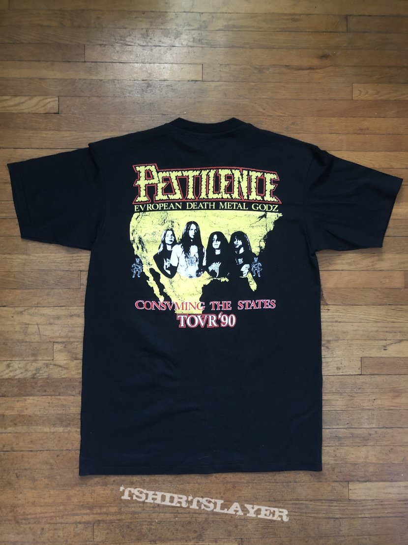 Pestilence - Consuming Impulse / Consuming the states tour 90