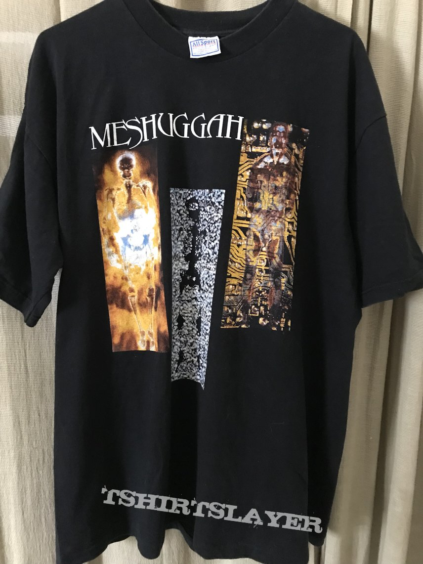 Meshuggah Destroy Erase Improve Euro Tour 95' OG shirt