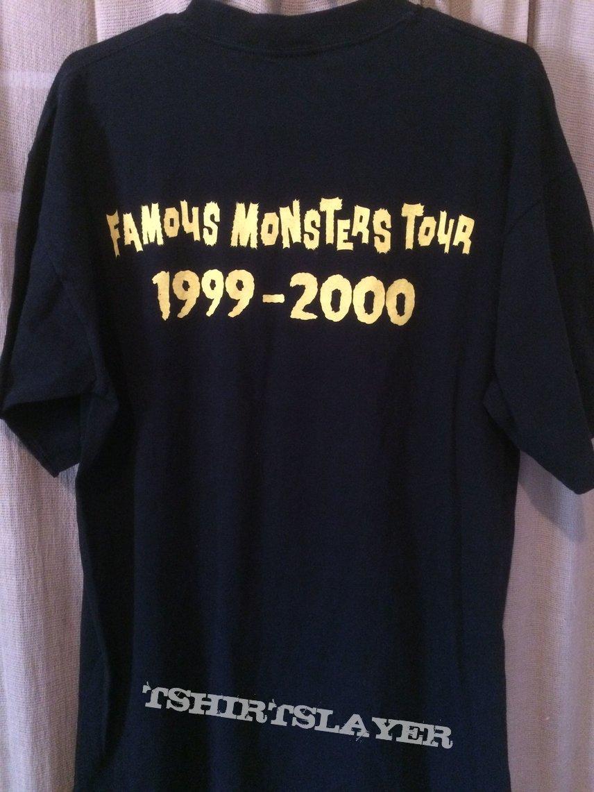 Misfits Famous Monsters tour OG shirt