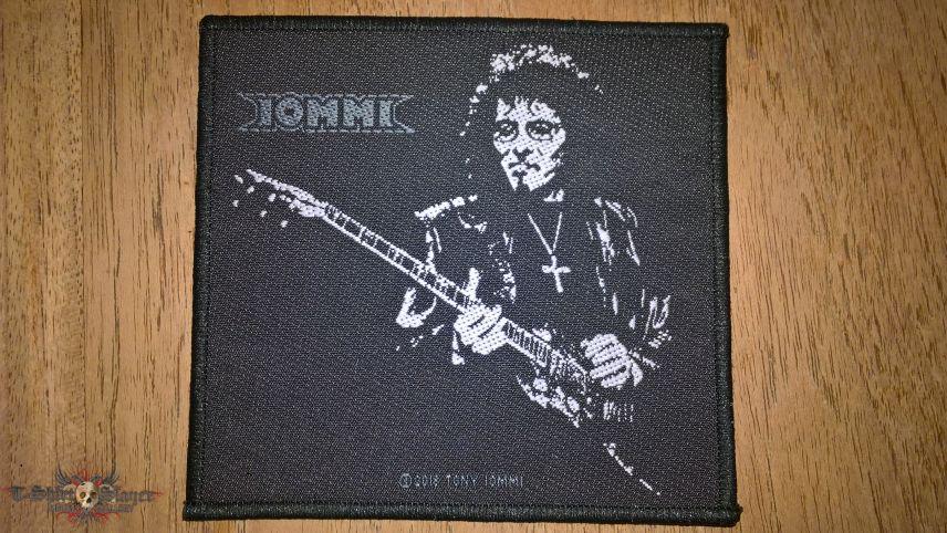 Tony Iommi woven Patch