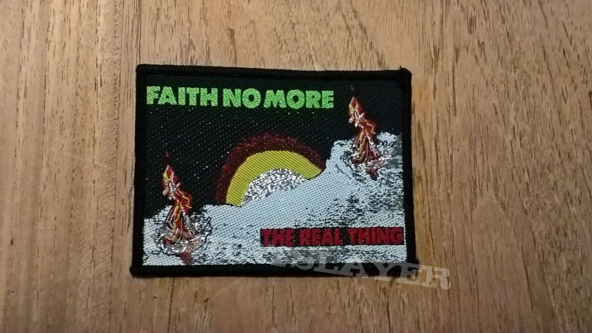 Faith no More - The Real Thing woven patch