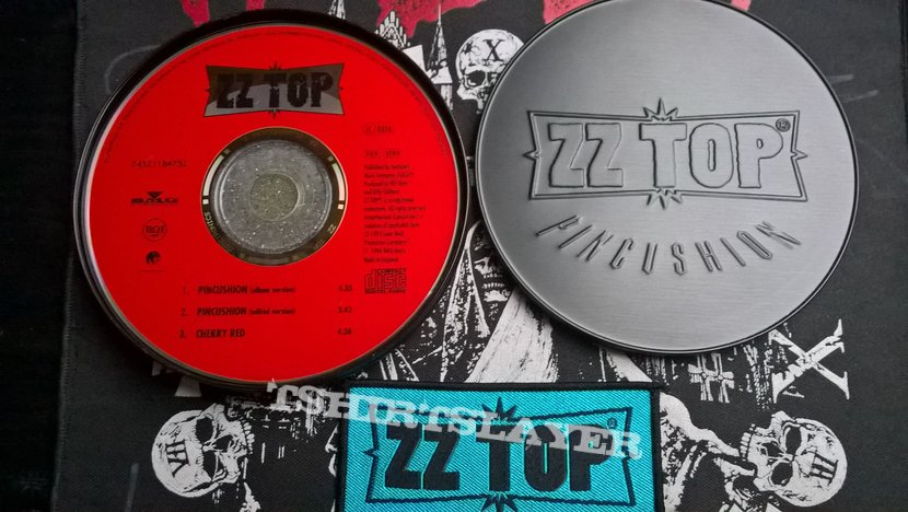 ZZ Top Pincushion Box