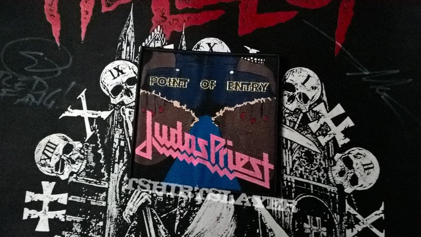 Judas Priest - Point of Entry Patch