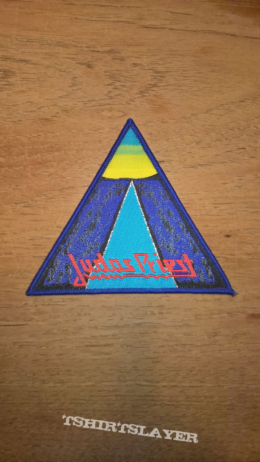 Judas Priest - Point of Entry woven patch