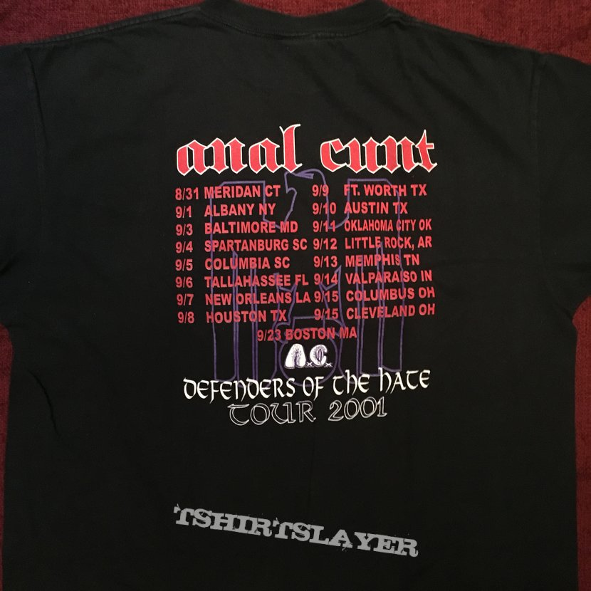 Anal cunt us tour 01
