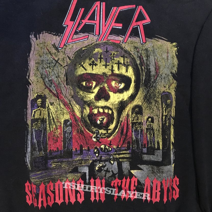 Slayer european campaign sweater 90