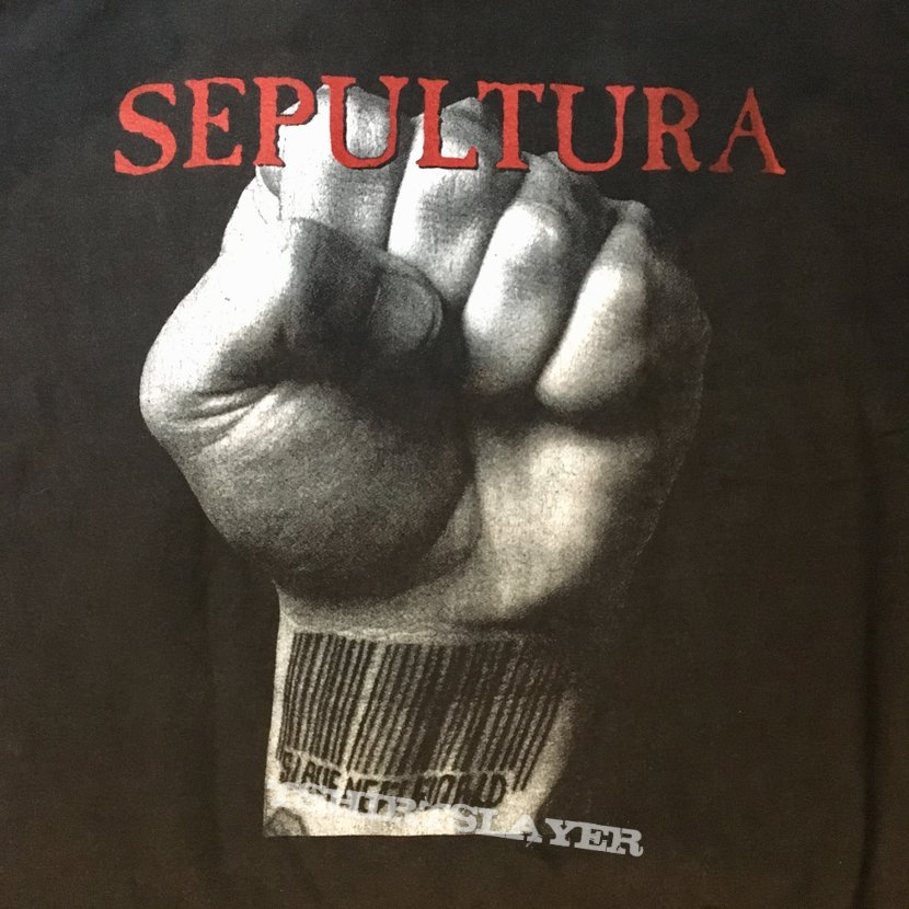 Sepultura slave new world 94