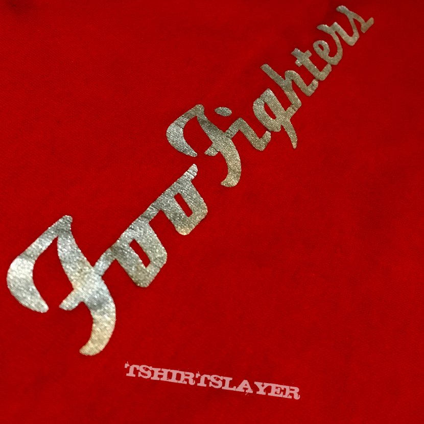 Foo Fighters 96 red